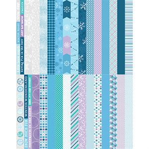 Picture of Pocket Winter Wonders Border Strips by Katie Pertiet - Set 30