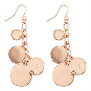 Picture of Alyssa Rose Gold Earrings
